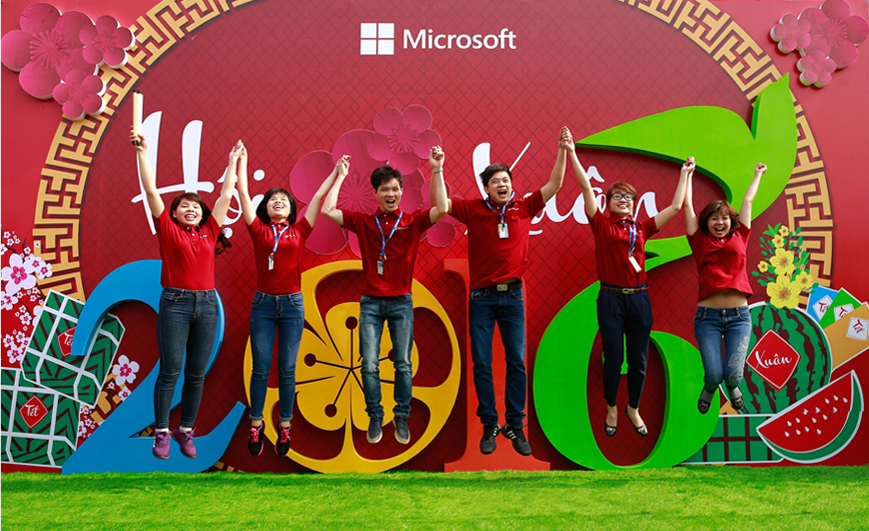 Hội xuân Microsoft 2016