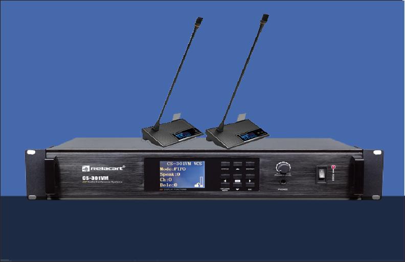 Hệ thống âm thanh hội thảo không dây Relacart
