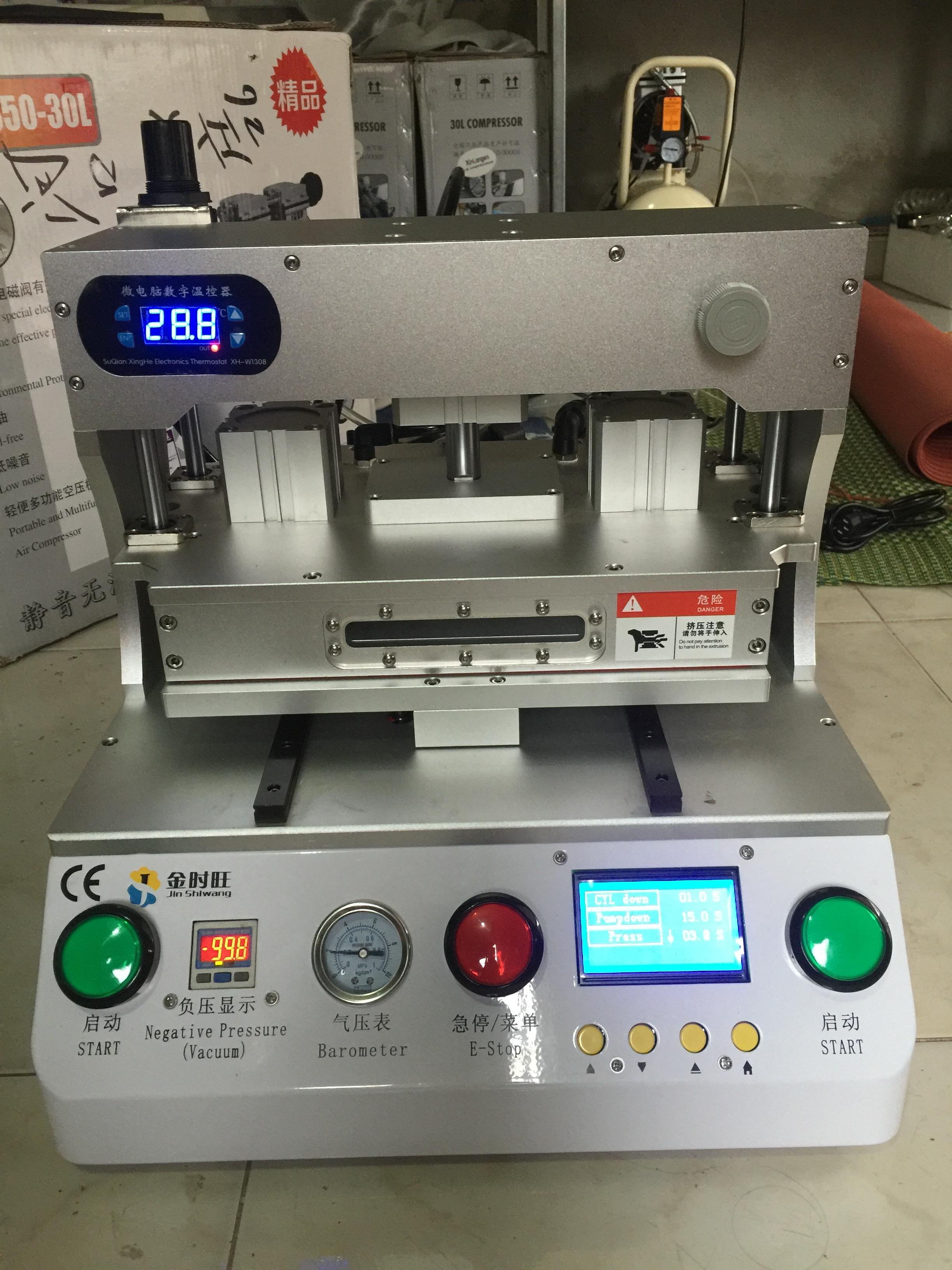 máy ép kính 14 inch nhập khẩu tự động