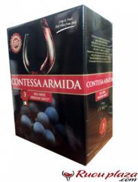 Mua rượu vang bịch 3 lít, 5 lít ngon tại rươuplaza giao hàng miễn phí HN.