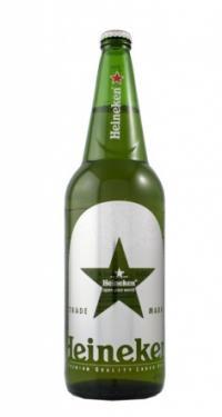 Bia Heineken - Chai thủy tinh 1 lít