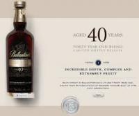 Rượu Ballantine's 40 năm