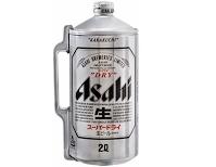 Bia Asahi Nhật Bản – Bình 2 lít