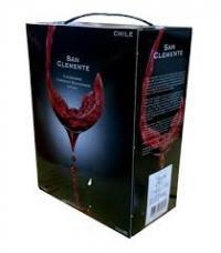 Rượu vang bịch San Clemante 3 lít