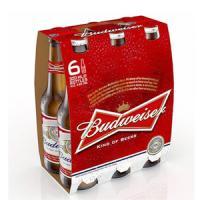 Lốc 6 Chai - Bia Budweiser Mỹ