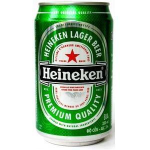 Bia Heineken - Lon 330ml