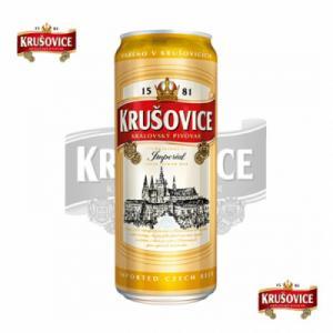 Bia Krusovice - Lon 500ml