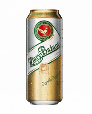 Bia Zlatý Bazant – Lon 500ml