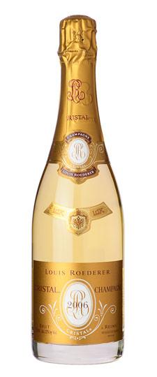 Rượu sâm banh Pháp Cristal Luis Roederer 2006