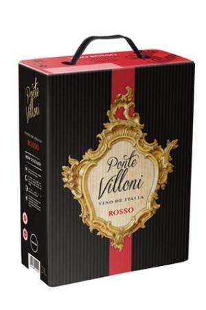Rượu vang bịch ý Ponte Villoni 3 lít