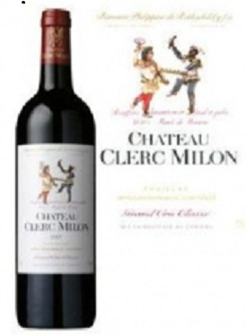 Rượu vang Chateau Clerc Milon 2007