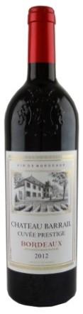 Rượu vang Châteaux Barrail Cuvee Prestige 2012