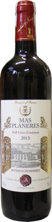 Rượu vang Chateaux PlaneresCotes Catalanes Red 2013