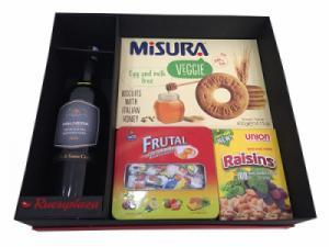 Hộp quà tết rượu vang Ý Malnera