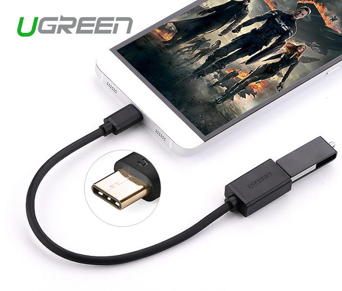 Cáp USB 2.0 Type A sang Type C 0.5M Ugreen 30158