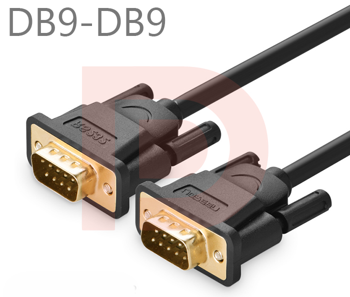 Cáp RS232 (DB9M-DB9M, COM to COM) Ugreen