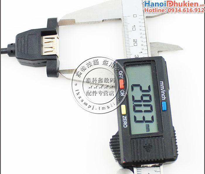 Cáp nối dài USB 2.0 đầu bắt vít 0.5M