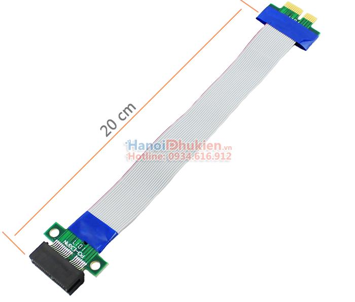 Dây cáp Riser PCI-E 1X nối dài 20cm