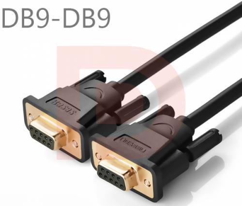 Cáp RS232 5M (DB9F-DB9F, COM to COM) Ugreen 20152