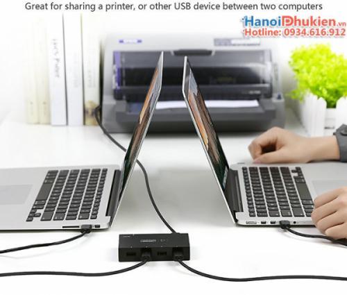USB 2.0 Sharing Switch 2x1 Ugreen 30345
