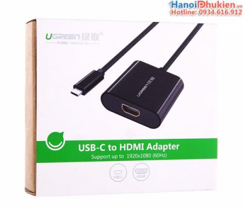 Cáp USB Type C sang HDMI Ugreen 20587 hỗ trợ 4K