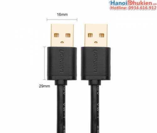 Cáp USB 2.0 Male to Male (hai đầu đực) 0.5M-1M-1.5M-2M Ugreen US102