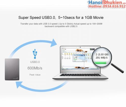 Cáp USB 3.0 Male to Male (hai đầu đực) 0.5M Ugreen 10369
