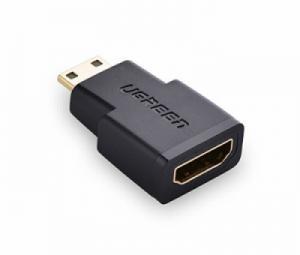 Đầu chuyển đổi Mini HDMI sang HDMI Ugreen 20101 chính hãng