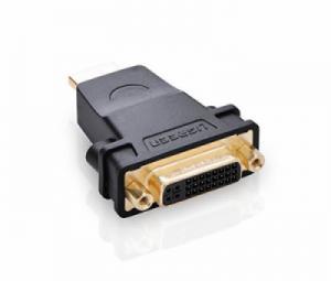 Đầu chuyển đổi HDMI sang DVI-I 24+5 Ugreen 20123 chính hãng