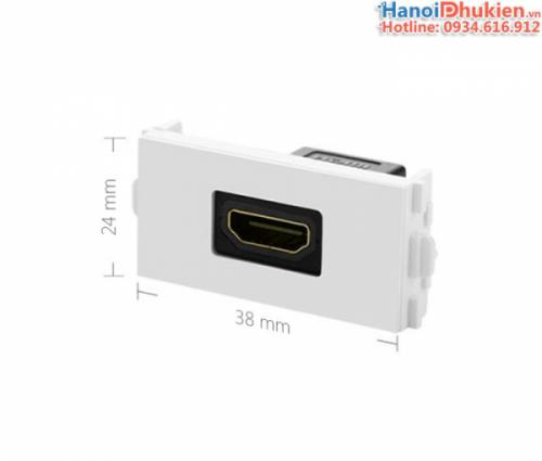 Đế HDMI âm tường - HDMI wallplate Ugreen 20317