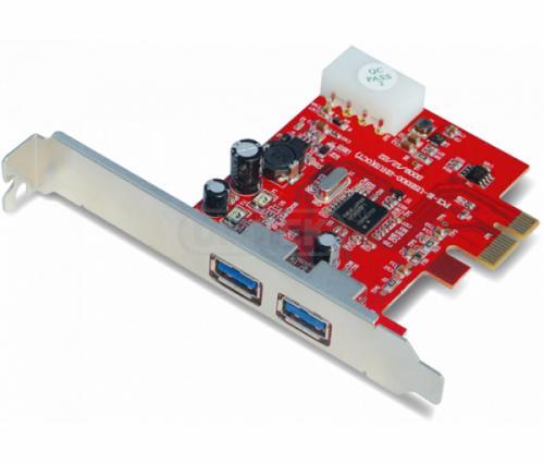 Card PCI-E 1X to 2 Port USB 3.0 Unitek Y-7301