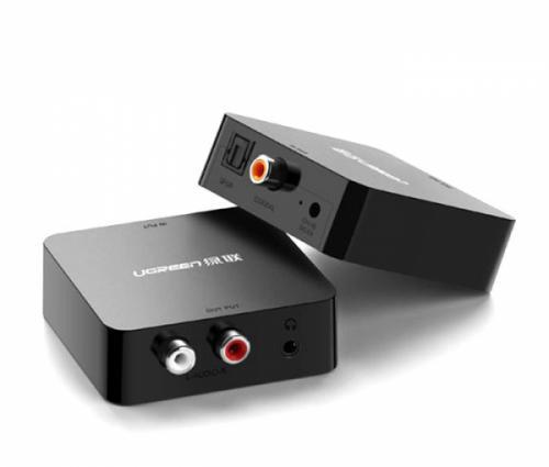 Chuyển đổi âm thanh quang Optical, Coaxial sang Analog AV Ugreen 30523