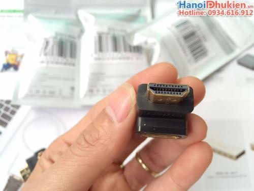 Đầu nối HDMI bẻ góc 90 độ xuống Ugreen 20109