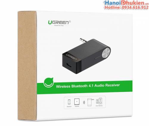 Đầu thu âm thanh không dây Bluetooth 4.1 có Micro đàm thoại Ugreen 30348