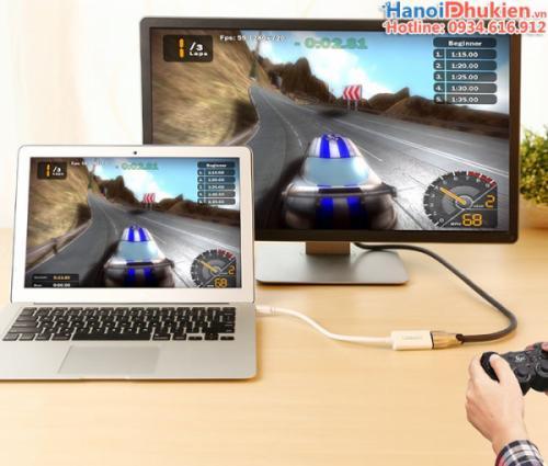 Cáp chuyển Mini Displayport, thunderbolt sang HDMI Female Ugreen 10460 màu trắng