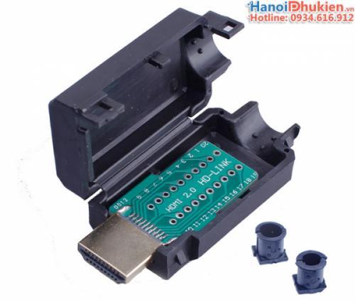 Đầu hàn cáp HDMI 1.4, 2.0 đực (male)