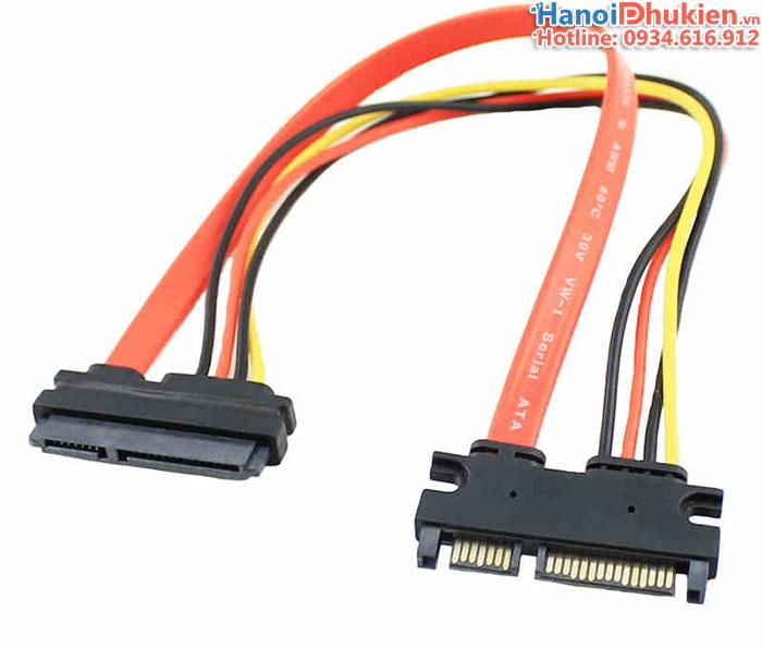 Cáp nối dài SATA, Power 50cm cho ổ cứng HDD, SSD